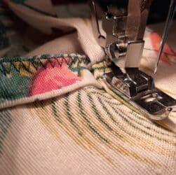 Sešívání sukně